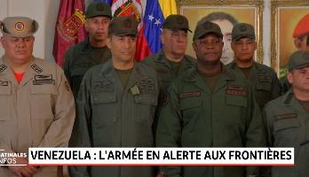 Venezuela: l'armée en alerte