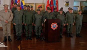 Venezuela: l'armée en alerte aux frontières