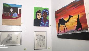 """""""موريتانيا في لوحة"""" .. معرض للفن التشكيلي لرسامين شباب"""