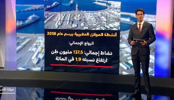 ملف .. نشاط الموانئ المغربية في 2018 بلغة الأرقام