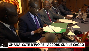 Ghana-Côte d'Ivoire: accord sur le cacao