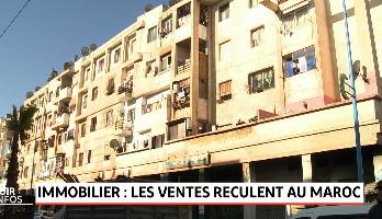 Immobilier: recul des ventes au Maroc