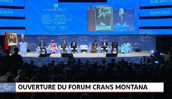 """Edition Spéciale > Emission spéciale : """"la cérémonie d'ouverture du Forum Crans Montana"""""""