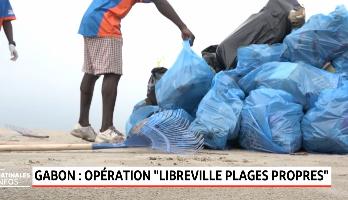 Gabon: mobilisation pour combattre la pollution des plages