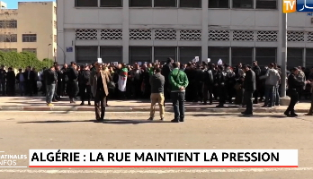 Algérie .. La rue maintient la pression