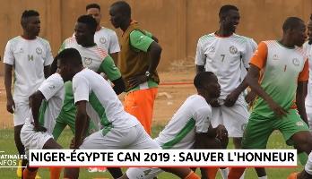 Niger-Egypte CAN 2019: sauver l'honneur