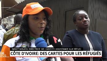 Côte d'Ivoire: des cartes d'identité biométriques pour les réfugiés