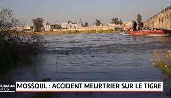 Naufrage d'un bac en Irak: Au moins 100 morts