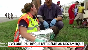 Cyclone Idai: risque d'épidémie au Mozambique