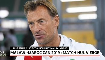 Malawi-Maroc: déclaration d'après match d'Hervé Renard