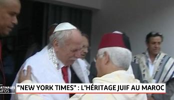Le New York Times met en exergue l'héritage juif au Maroc