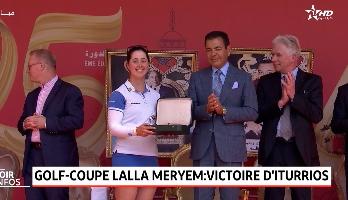 Rabat: cérémonie de remise des prix du Trophée Hassan II et de la Coupe Lalla Meryem de golf