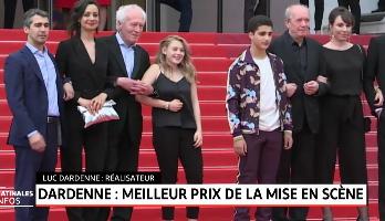 Festival de Cannes: les frères Dardenne remporte le Prix de la mise en scène