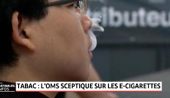 Cigarette électronique: l'OMS alerte