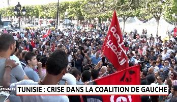 Tunisie: crise dans la coalition de gauche