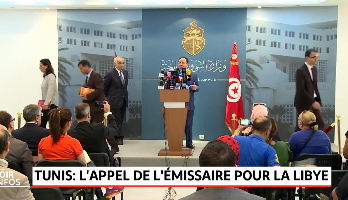 Tunis: l'appel de l'émissaire de la Libye
