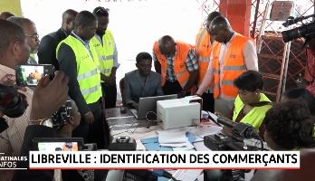 Libreville: opération d'identification des commerçants