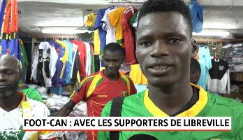 CAN 2019: ambiance dans les rues de Libreville