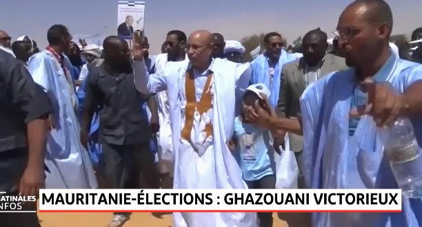 Mauritanie: Ghazouany remporte la Présidentielle mauritanienne avec 52,01% des voix