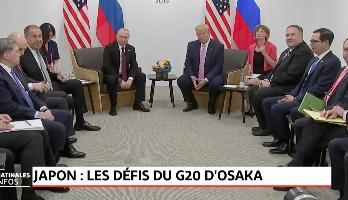 Les défis du G20 d'Osaka