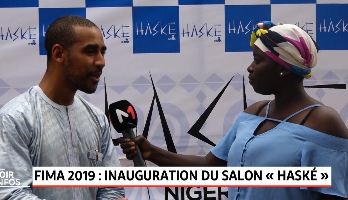 "Festival International de la Mode Africaine: inauguration du salon ""Haské by FIMA"""