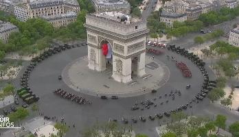 France: pas de défilé du 14 juillet, mais une cérémonie avec hommage aux militaires et soignants