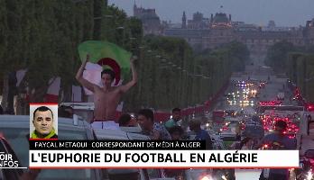 L'euphorie du football en Algérie