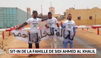Tindouf .. Sit-in de la famille de Sidi Ahmed Al Khalil