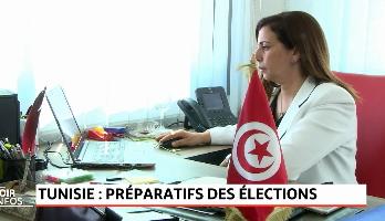 Tunisie: préparatifs des élections