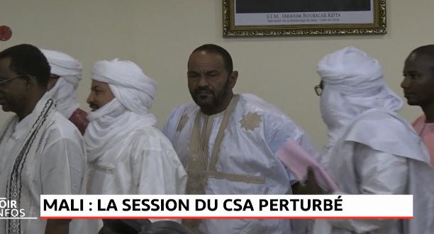 Mali: la session du CSA perturbé