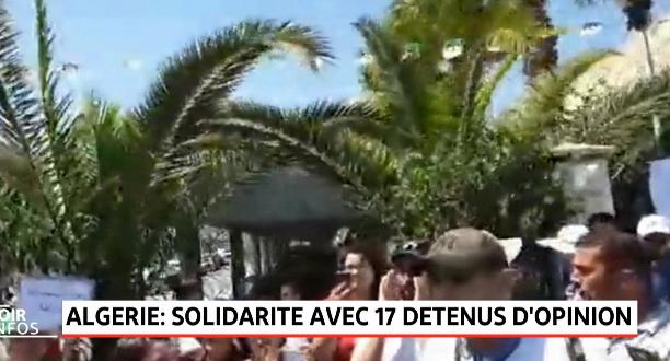 Algérie: rassemblement de solidarité avec 17 détenus d'opinion