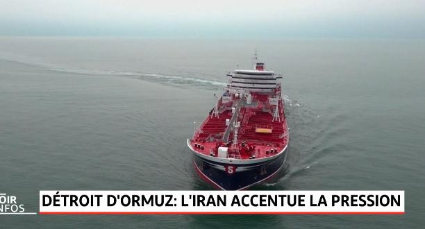 Détroit d'Ormuz: l'Iran accentue la pression