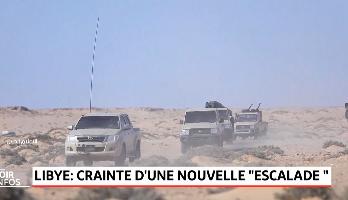 """Libye: crainte d'une nouvelle """"escalade"""""""