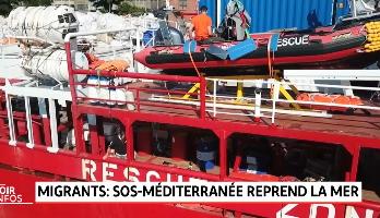 Migrants: SOS-Méditerranée reprend la mer