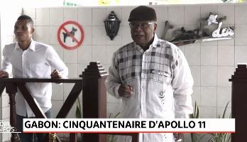 Gabon: Cinquantenaire d'Apollo 11