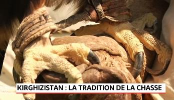 Kirghizistan: le Salburun, la traditionnelle chasse à l'aigle