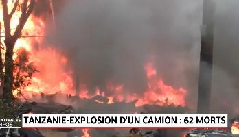 Tanzanie: explosion d'un camion-citerne, 64 morts