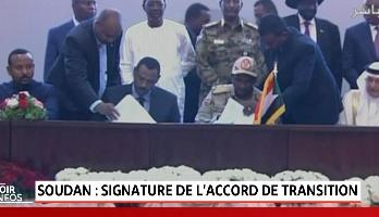 Soudan: le Conseil militaire et la contestation signent l'accord de transition