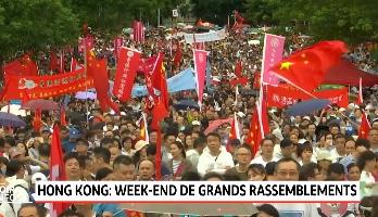 Hong Kong: un nouveau rassemblement prévu dimanche