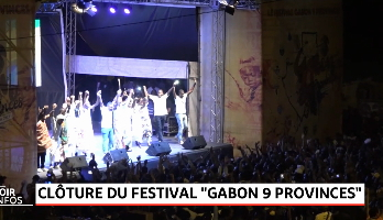 Gabon: tombée du rideau du festival 9 provinces