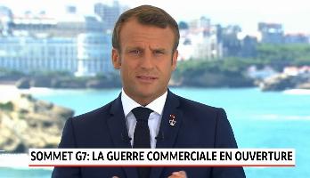 Sommet du G7: la guerre commerciale au menu des discussions