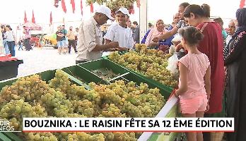 Bouznika: le raisin fête sa 12ème édition