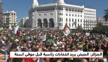 الجزائر.. الجيش يريد انتخابات رئاسية قبل موفى السنة