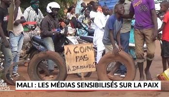 Mali: les médias sensibilisés sur la paix