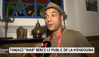 """Tanjazz: """"WAB"""" berce le public de la Mendoubia"""