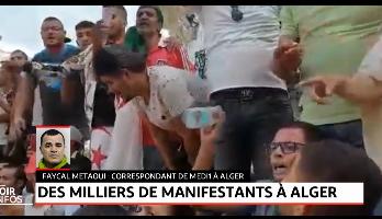 Algérie: forte mobilisation ce vendredi malgré un gros déploiement policier