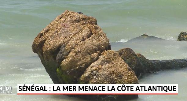 Sénégal: la mer menace la côte atlantique