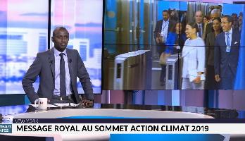 Message royal au Sommet Action Climat 2019