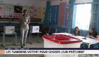 Les Tunisiens aux urnes pour l'élection présidentielle anticipée