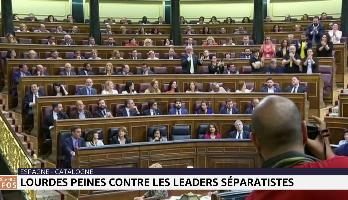 Lourdes peines contre les leaders séparatistes